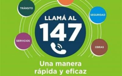 147: una manera rápida y eficaz para comunicarte con el Municipio