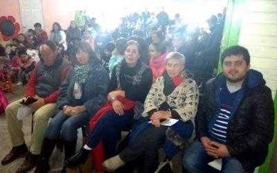 Educación: visita a las localidades