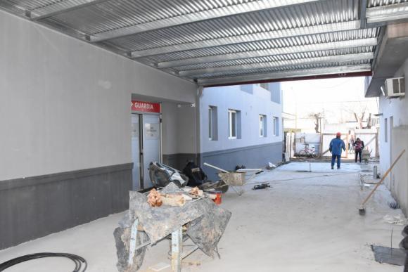 Hospital Municipal: avanzan las obras