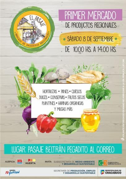 """""""Mercado de Productos Regionales"""", tercera edición"""