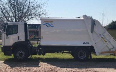Camión compactador: se incorpora una nueva unidad a Servicios Públicos