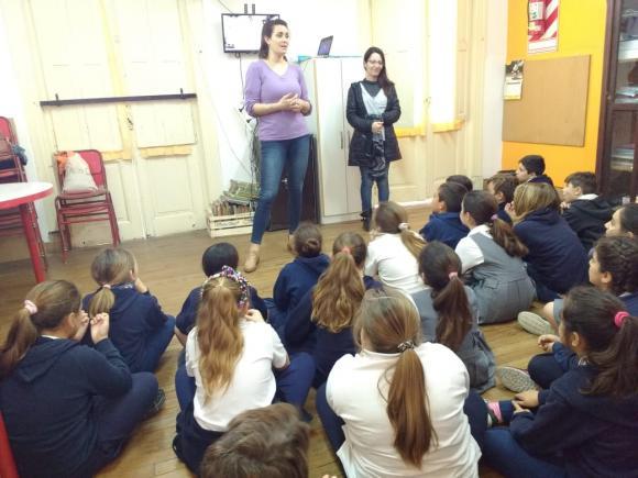Desde los más pequeños: Educación Vial de recorrida en las escuelas