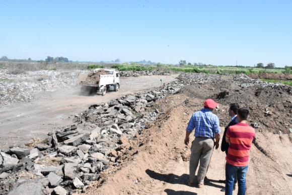 Basural Municipal: se comenzaron con las tareas de saneamiento
