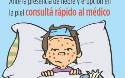 Sarampión y Rubéola: continúa la campaña de vacunación