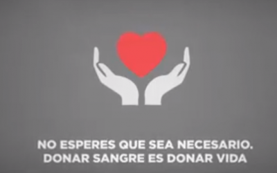 Donar sangre: no esperes que sea necesario