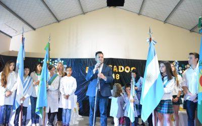 """Aiola: """"el sentimiento de Malvinas va a estar presente entre todos los ciudadanos de Chacabuco"""""""