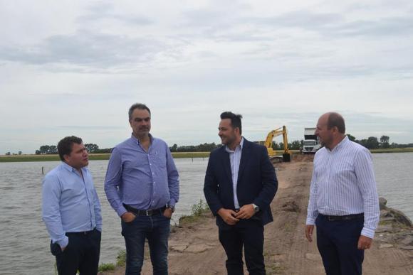 Laguna de Rocha: después de casi dos décadas, avanza el cierre de las brechas