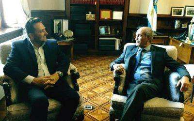 Víctor Aiola mantuvo reuniones en La Plata
