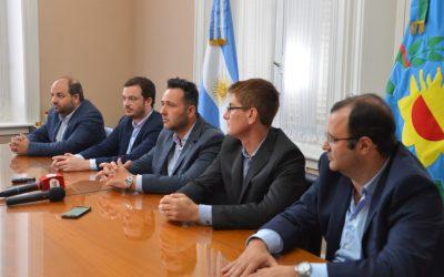 Hacer y estar: Aiola recibió al ministro de Salud de la Provincia