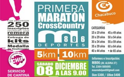 "Se viene la primera maratón ""Cross Country"" en Chacabuco"