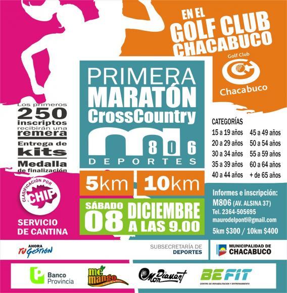 """Se viene la primera maratón """"Cross Country"""" en Chacabuco"""