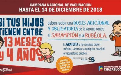 Sarampión y Rubéola: se extendió la campaña de vacunación