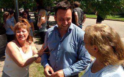 """Aiola: """"la política se hace en la calle y cerca del vecino"""""""