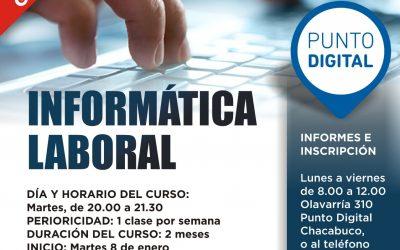 """""""Punto Digital"""": inicio de talleres"""