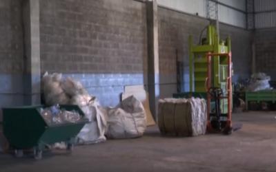 Planta de Residuos Sólidos Urbanos desde adentro