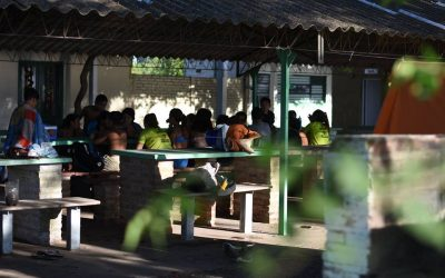 """Deportes: Campamento de la colonia """"Arco Iris"""""""