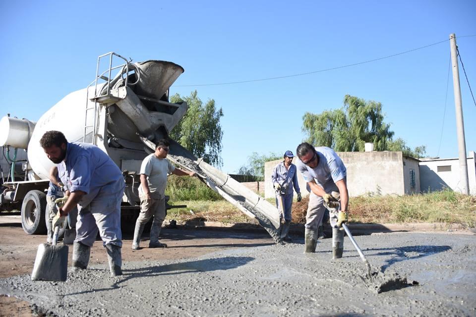 Alcira de la Peña: nueva etapa de la obra de accesibilidad para el barrio