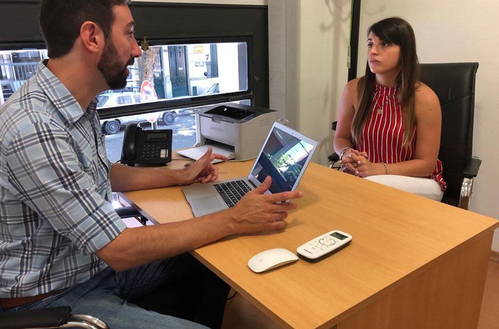 Juventud: gestiones en La Plata