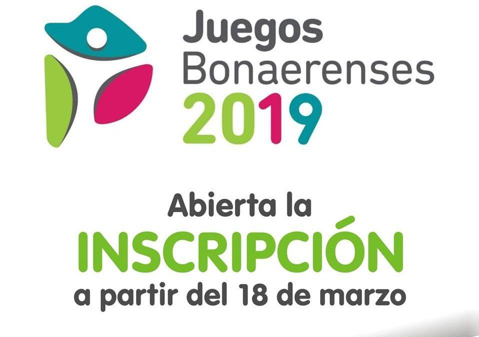 Juegos Bonaerenses 2019: abierta la inscripción