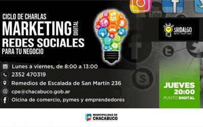 Marketing Digital: ciclo de charlas