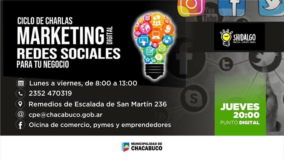 Marketing Digital: ciclo de charlas