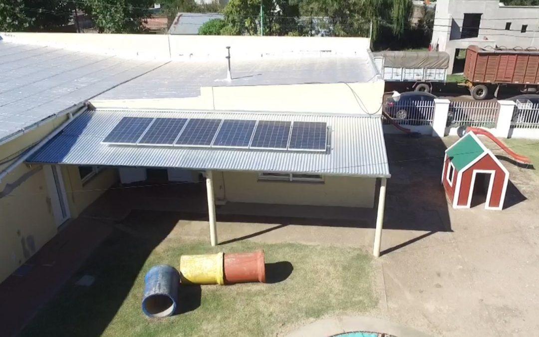 """Aiola: """"trabajar con energías renovables es el camino que hay que seguir"""""""