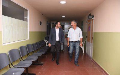 Aiola recibió al Intendente Municipal de Rojas