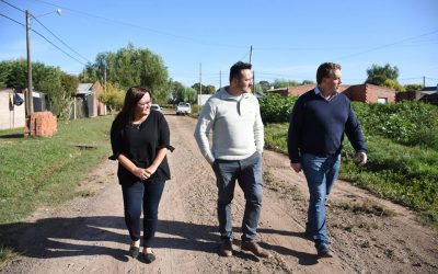 Arreglo de calles en el barrio La Ilusión