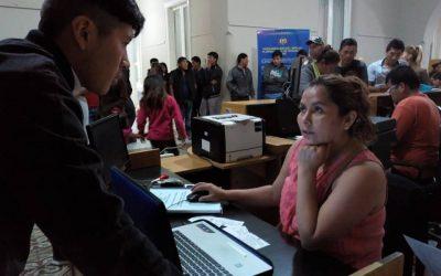El consulado móvil de Bolivia estuvo en Chacabuco