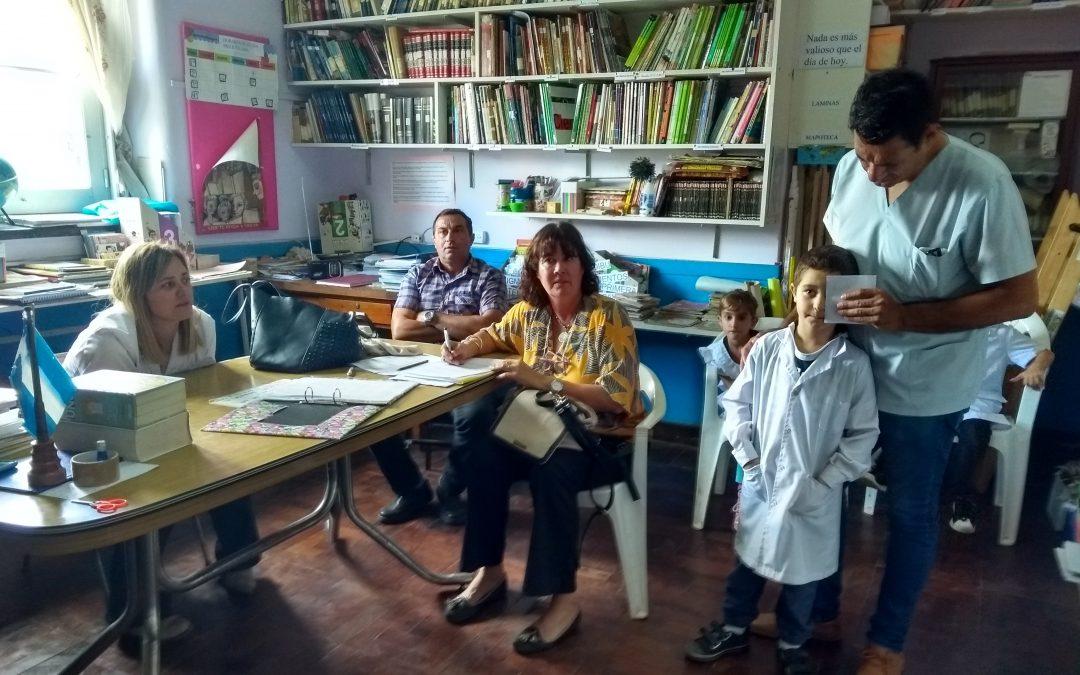 Educación en O'Higgins y Castilla