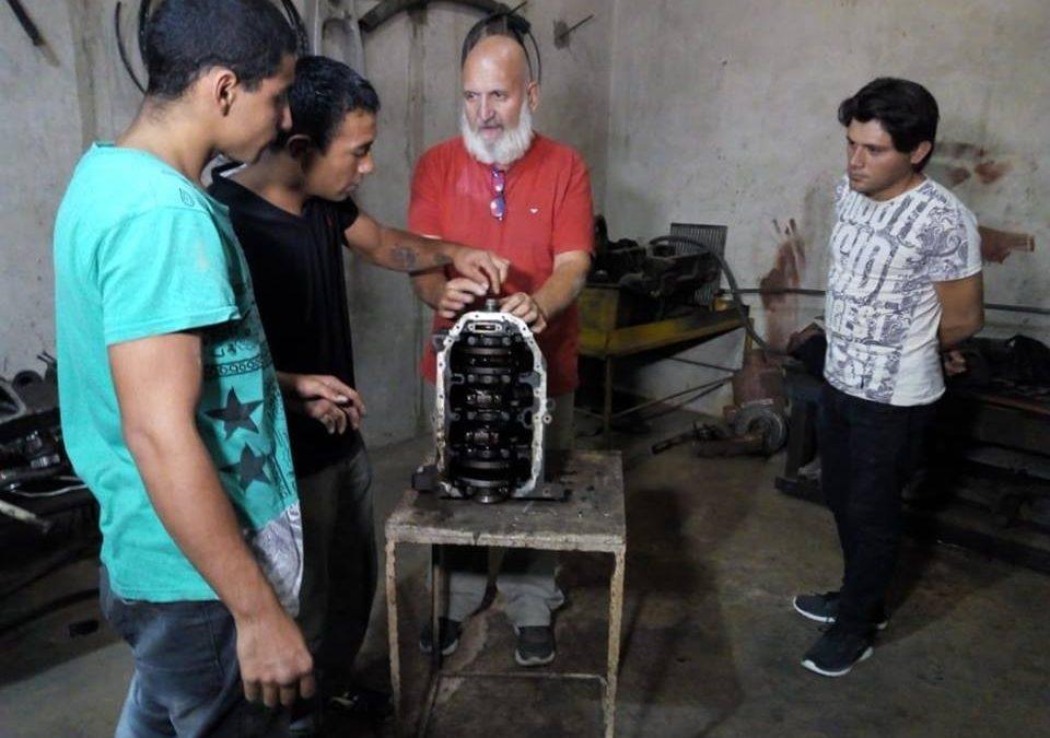 Curso de Mecánica en Maquinaria Pesada