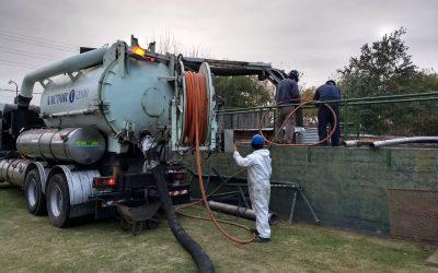 Obras Sanitarias: mantenimiento de Planta Depuradora