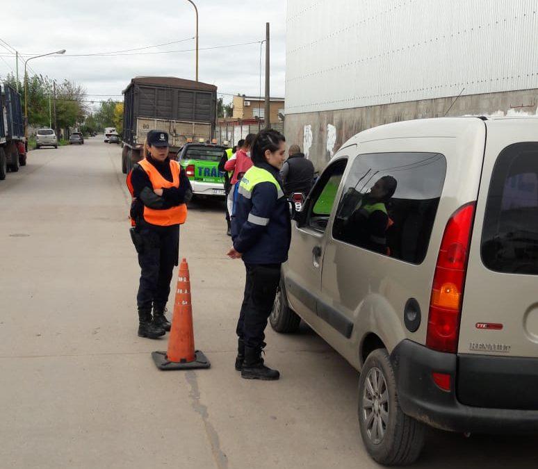 Tránsito: operativos de control y prevención