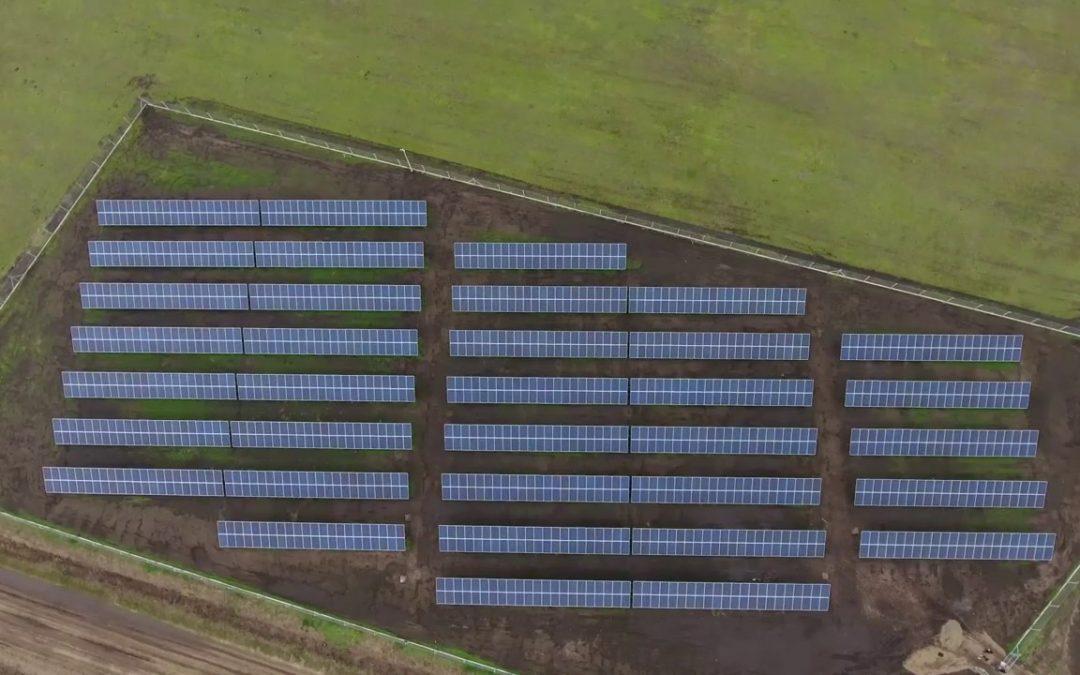 En mayo se pondrá en marcha la obra del Parque Fotovoltaico en O'Higgins
