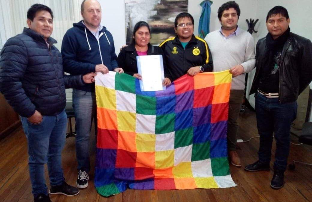 Reafirmar el compromiso: Consulado Móvil boliviano en Chacabuco