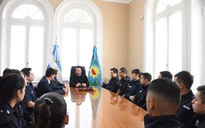 Seguridad: nueve oficiales se incorporaron a la Fuerza Policial local