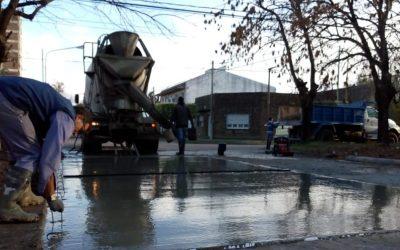 Chacabuco continúa en obras