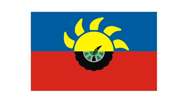 Identidad chacabuquense: presentación oficial de la bandera del Partido