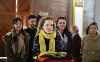 En el día de la Patria, se presentó oficialmente la Bandera de Chacabuco
