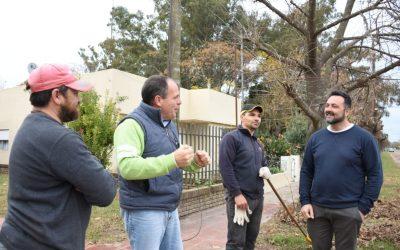 """Aiola: """"asumimos el compromiso de estar cerca de las localidades y seguimos cumpliendo"""""""