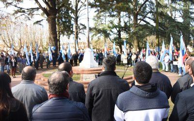 """Aiola: """"los argentinos nos merecemos un país que sueñe con lo que soñaron nuestros antepasados"""""""