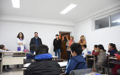 Obras Públicas y Educación: ya están en funcionamiento las tres aulas construidas en la Escuela Nº 27