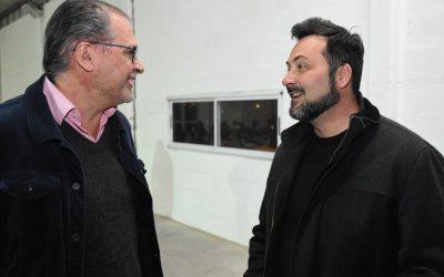 Aiola acompañó a la Comisión Directiva del Club Porteño
