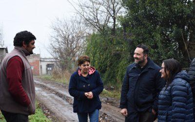 Más gestión: grandes anuncios para los barrios UOCRA y Alcira de la Peña