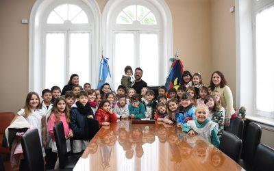 Educación: el Intendente recibió visitas
