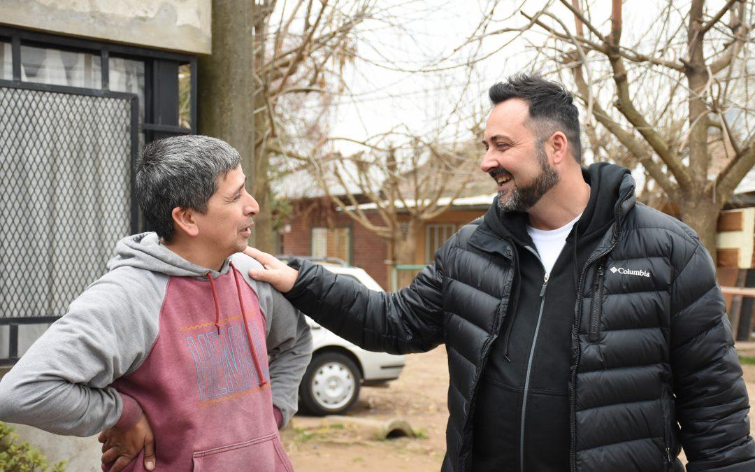 Aiola: «la caminata es sinónimo de esfuerzo, trabajo y compromiso con el vecino»