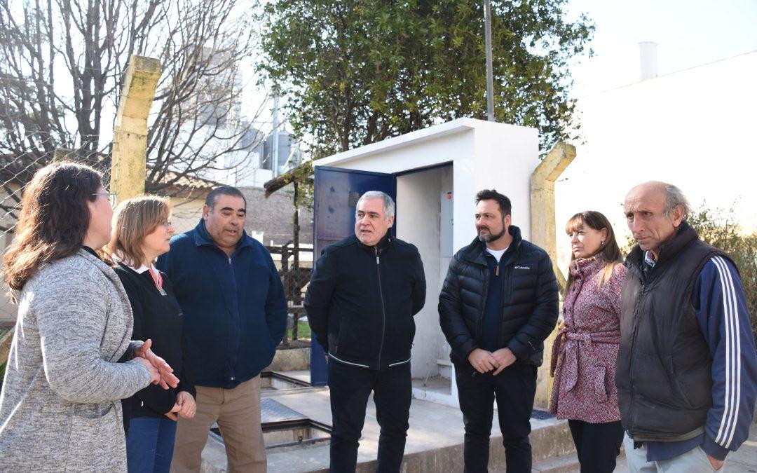 Agua corriente: Hoy fue reactivado un pozo que estuvo 15 años fuera de servicio