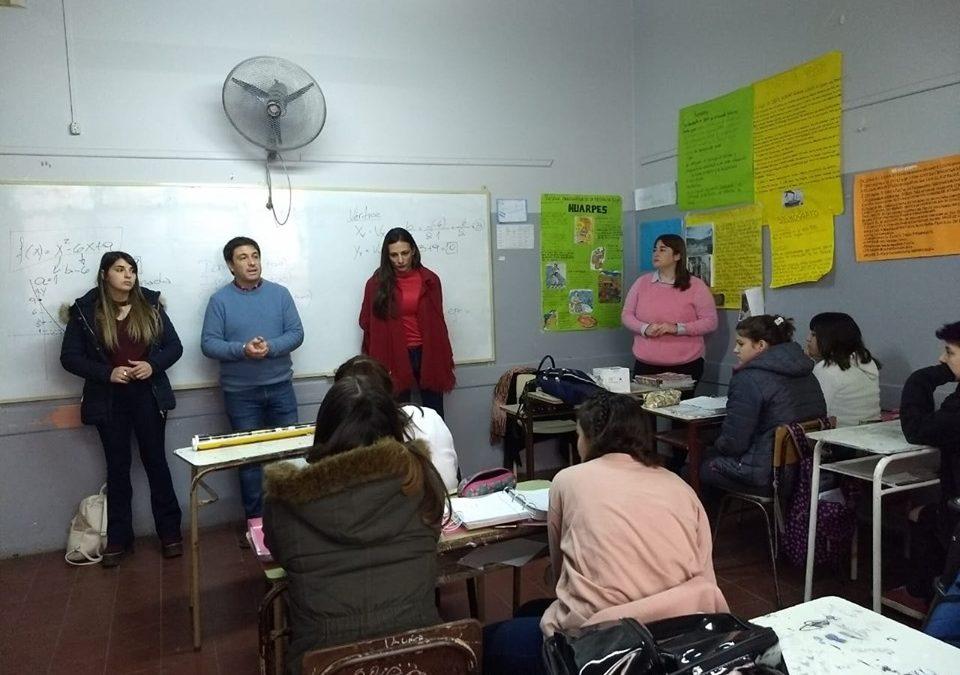 ontinúan los talleres sobre Educación Sexual Integral