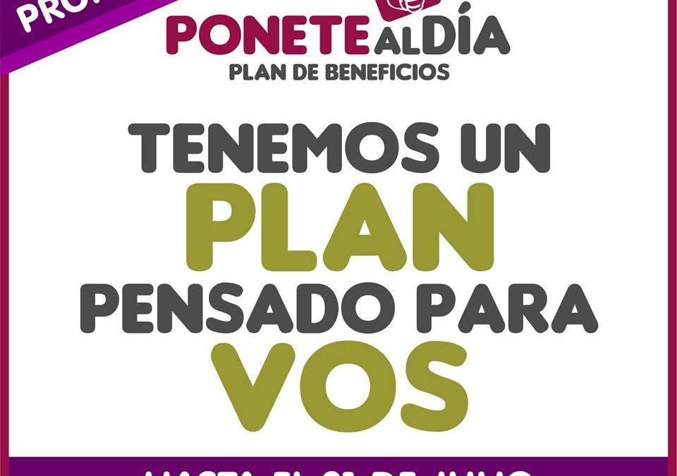 """""""Ponete al Día"""": se extendió el plazo hasta fines de julio"""