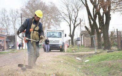 "Servicios Públicos continúa con su ""Plan Integral Barrio por Barrio"""
